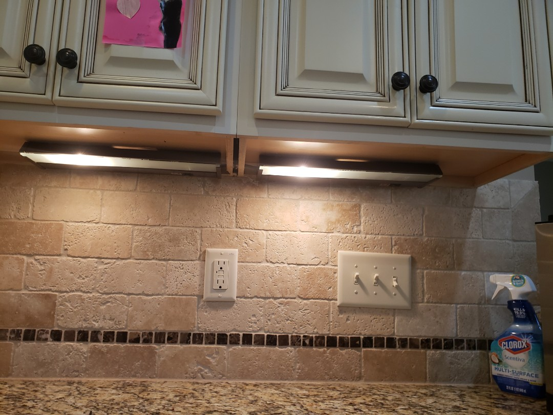 Raleigh, NC - Fixing under cabinet lights