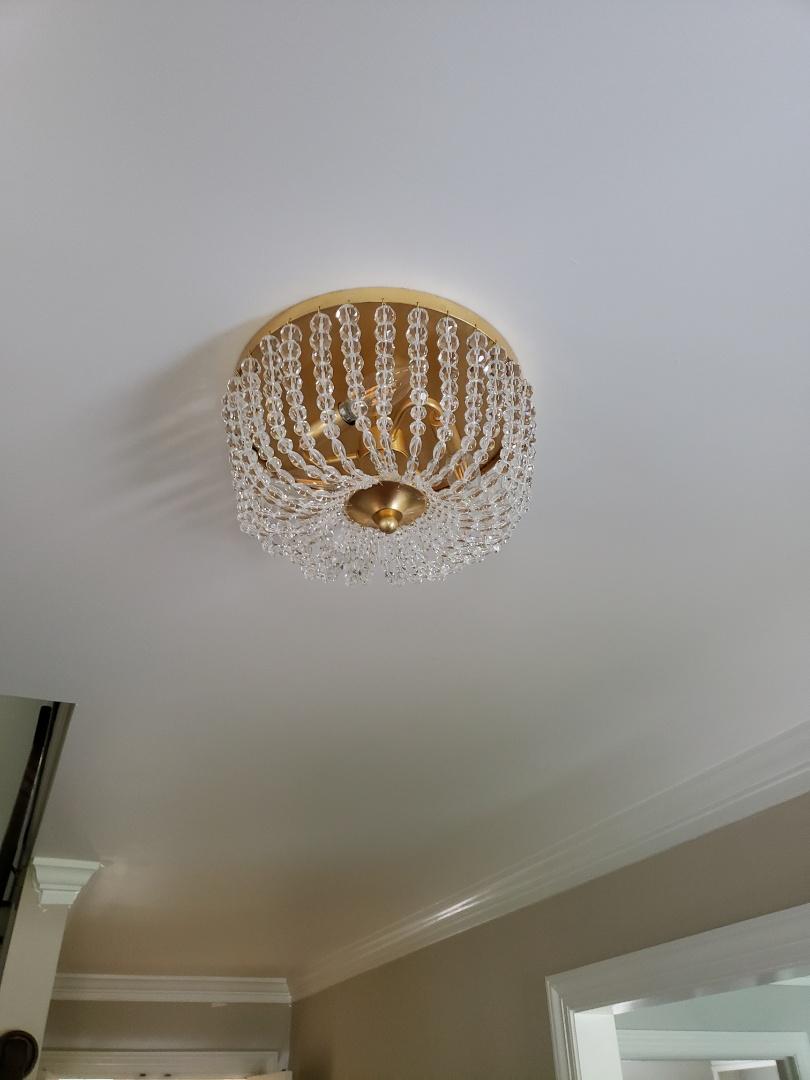 Raleigh, NC - Install customer supplied light fixture