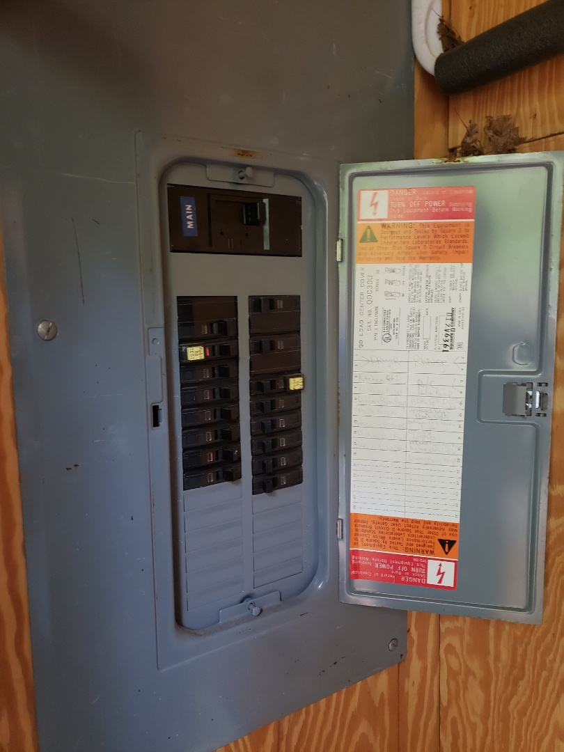 Knightdale, NC - Fix items on inspection report and check electrical panel