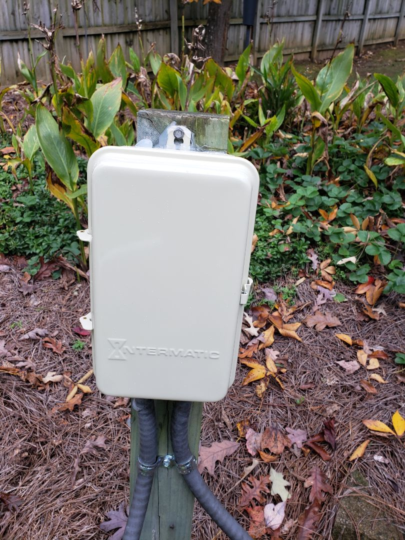 Raleigh, NC - Replace pool timer