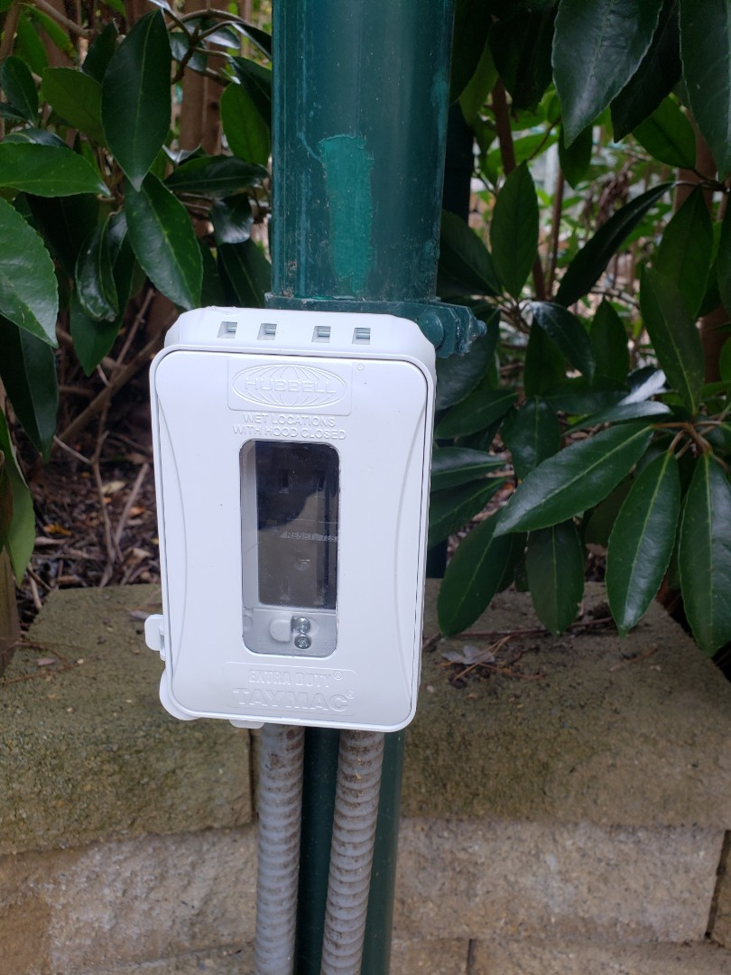 Raleigh, NC - Install new outdoor outlet cover