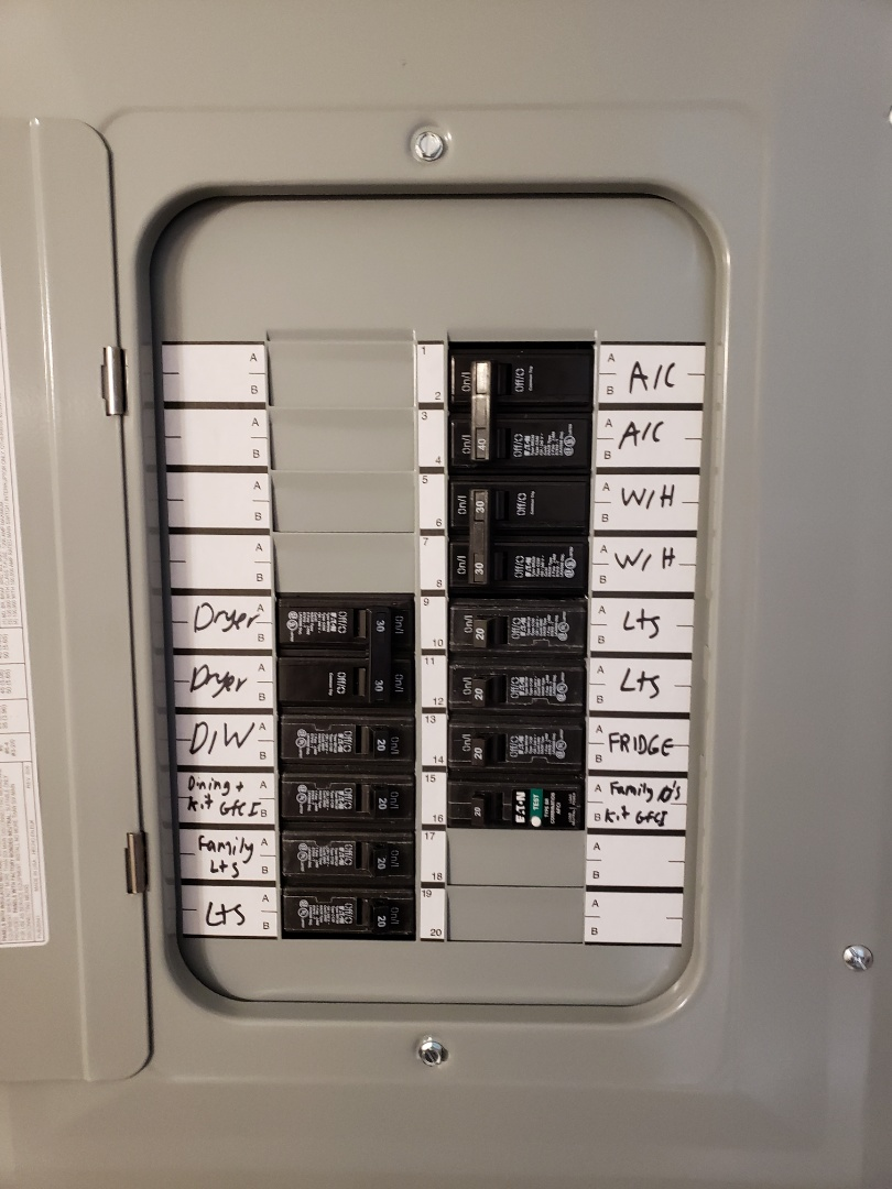 Raleigh, NC - Replace indoor  panel