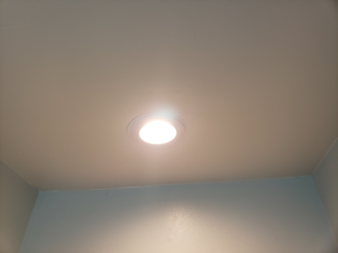 Cary, NC - Repair bathroom led light, loose connection between lamp and socket