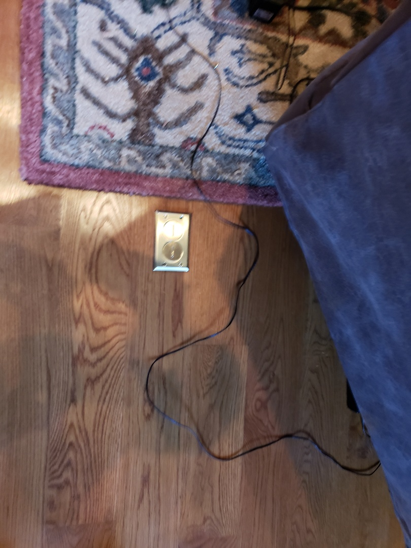 Raleigh, NC - Install new floor outlet