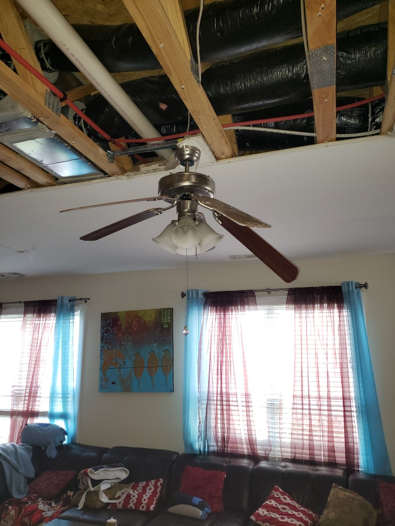 Raleigh, NC - Electrical inspection after bathroom flood