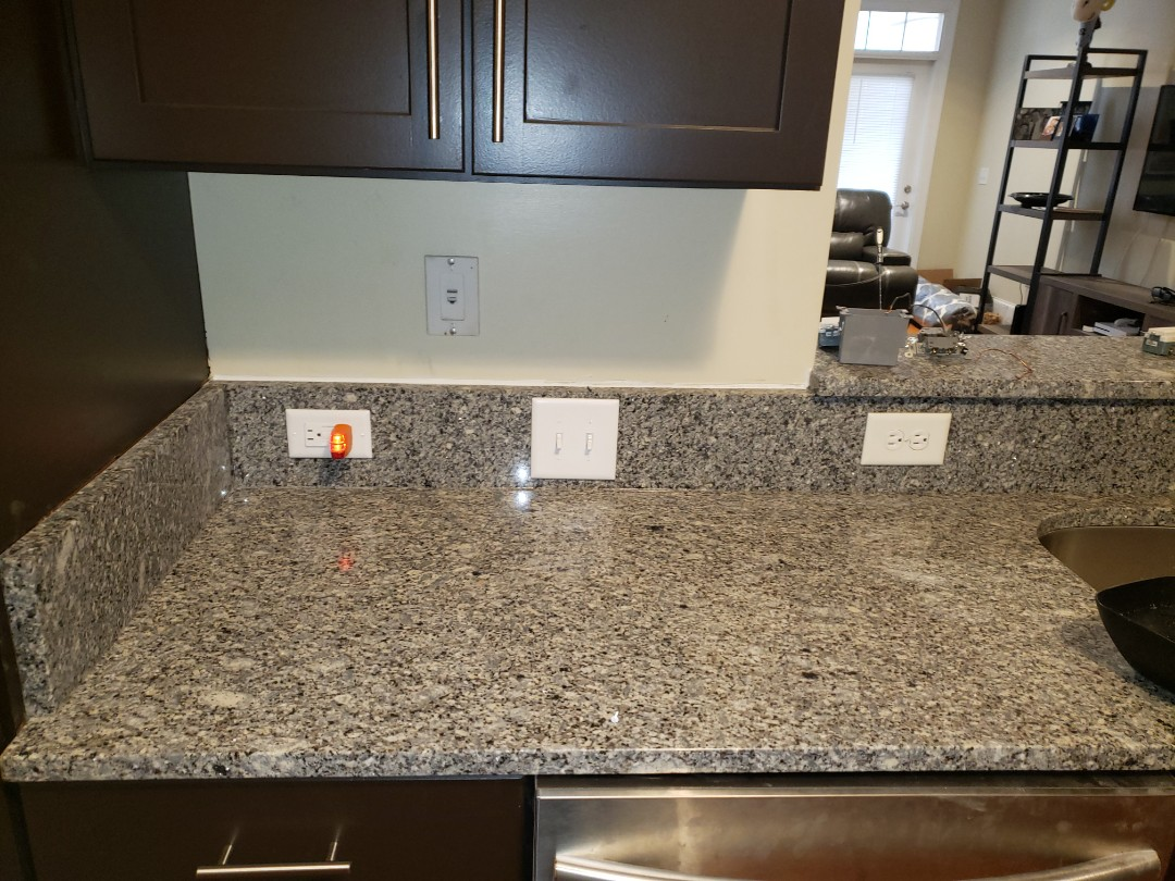 Durham, NC - Fix electrical that was removed during countertop installation