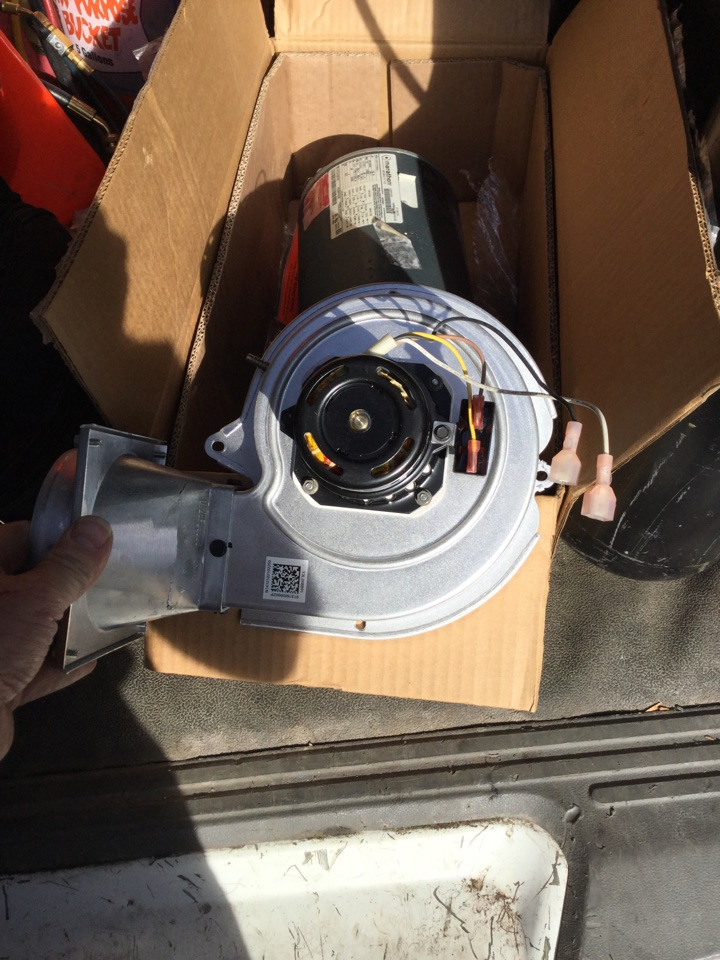Hacienda Heights, CA - I am replacing an inducer draft motor