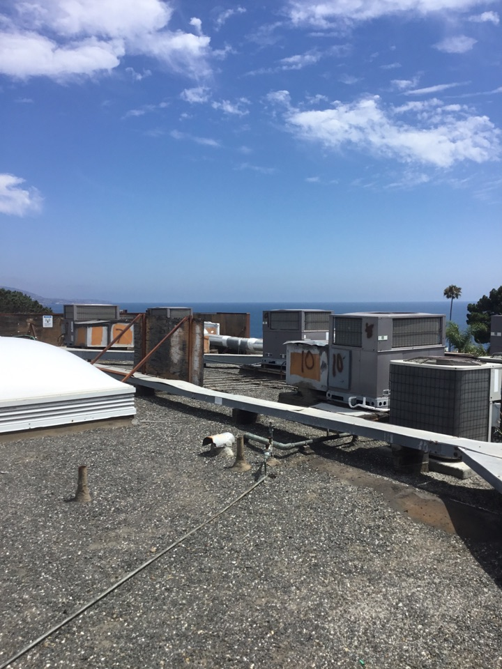 Laguna Beach, CA - Commercial preventive maintenance on 13 package units