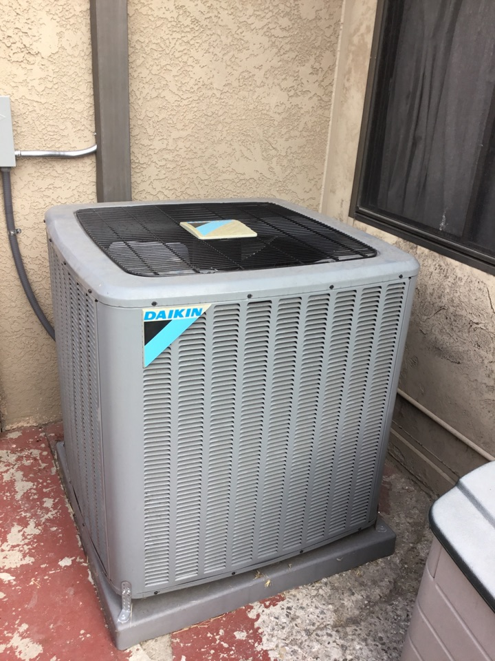 Lakewood, CA - Residential preventive maintenance on split unit