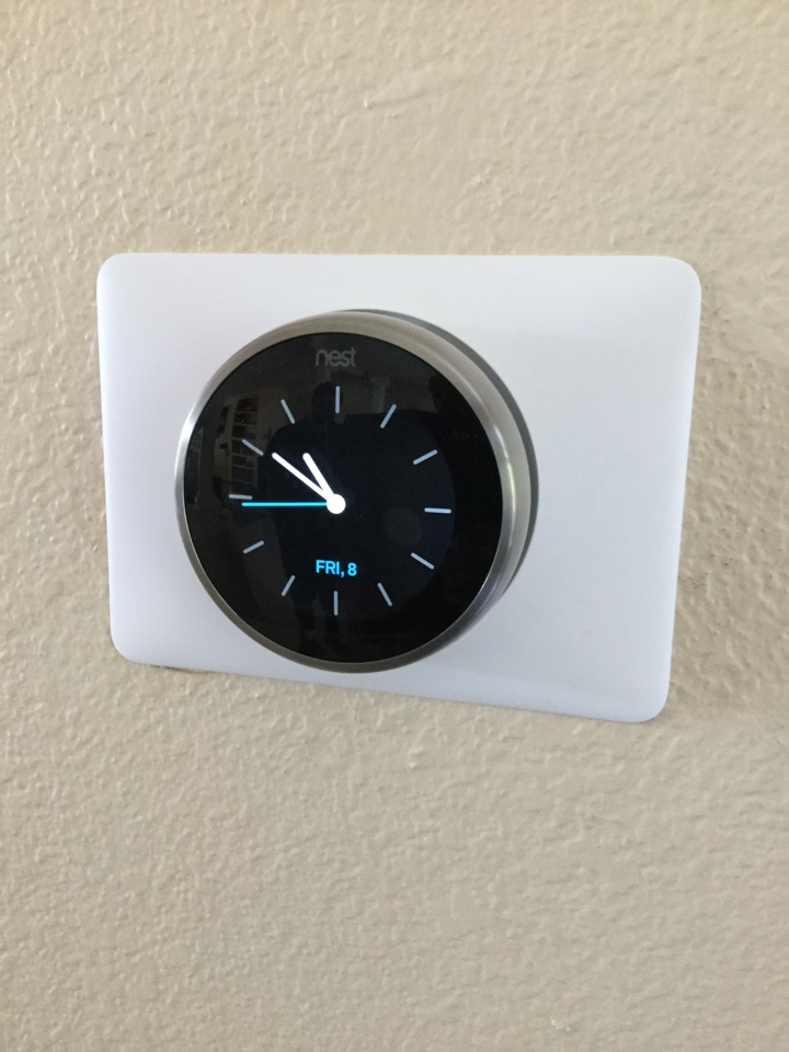 La Habra Heights, CA - Testing a Nest thermostat