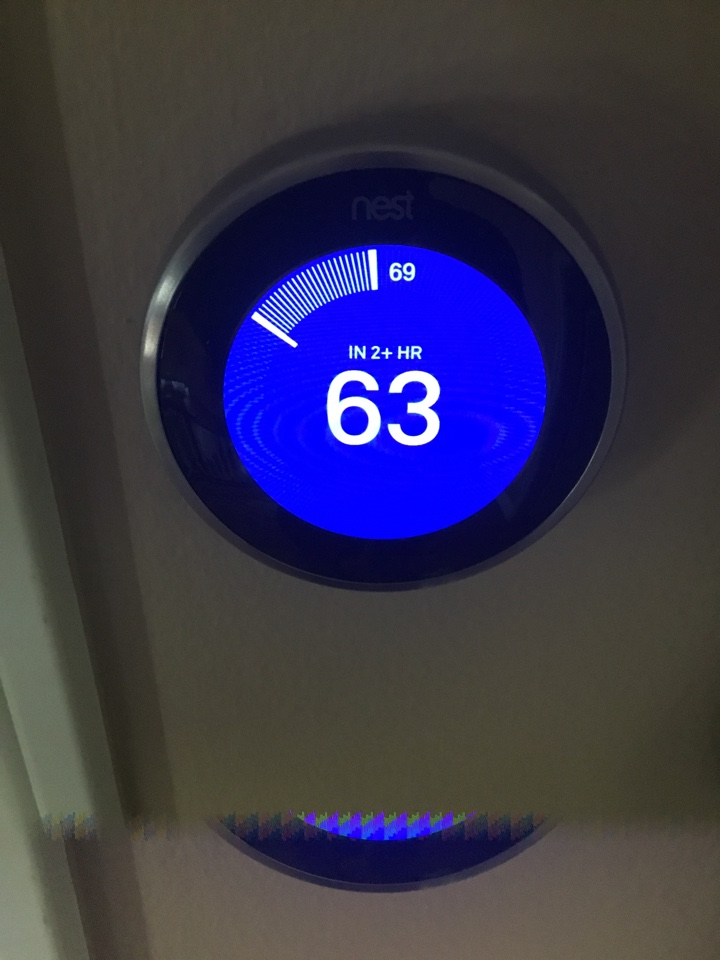 Costa Mesa, CA - Testing nest thermostat