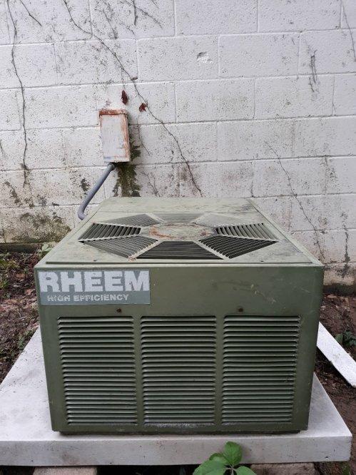 small resolution of columbus ga rheem air conditioner repair wiring repair made the old system