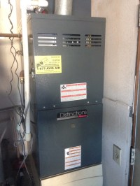 Colton, CA - Performed heating maintenance on a 2007 Amana ...