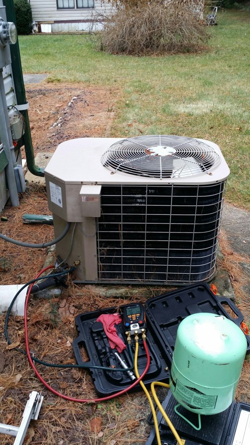 small resolution of freehold nj no heat repair call mobile home coleman heat pump not working