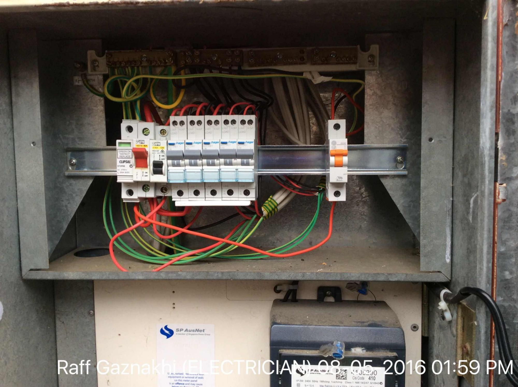 hight resolution of upgrade 5x cb to mcb rcd