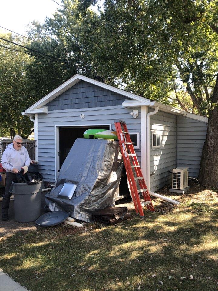 Edgewater, MD - Converting garage into a studio