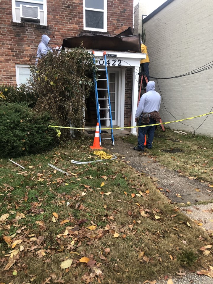Kensington, MD - Removal of front poetic