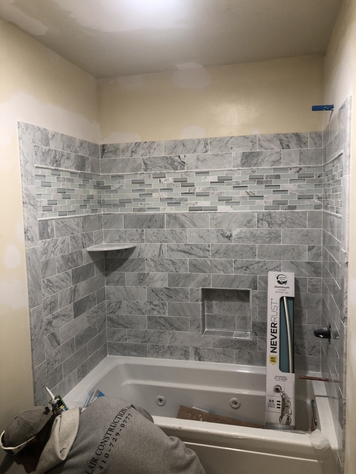 Severna Park, MD - Bathroom remodel with a new jetted tub in Severna Park