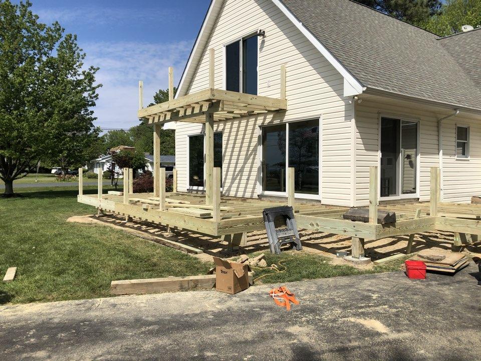 Stevensville, MD - Deck resurfacing