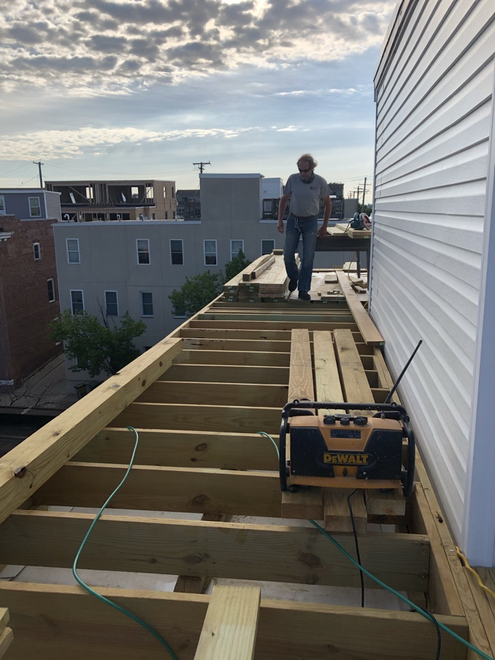Baltimore, MD - Roof top deck replacement