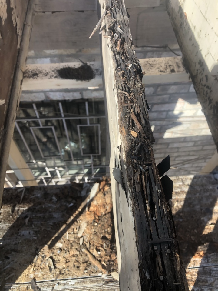 Pikesville, MD - Removing old rotten deck