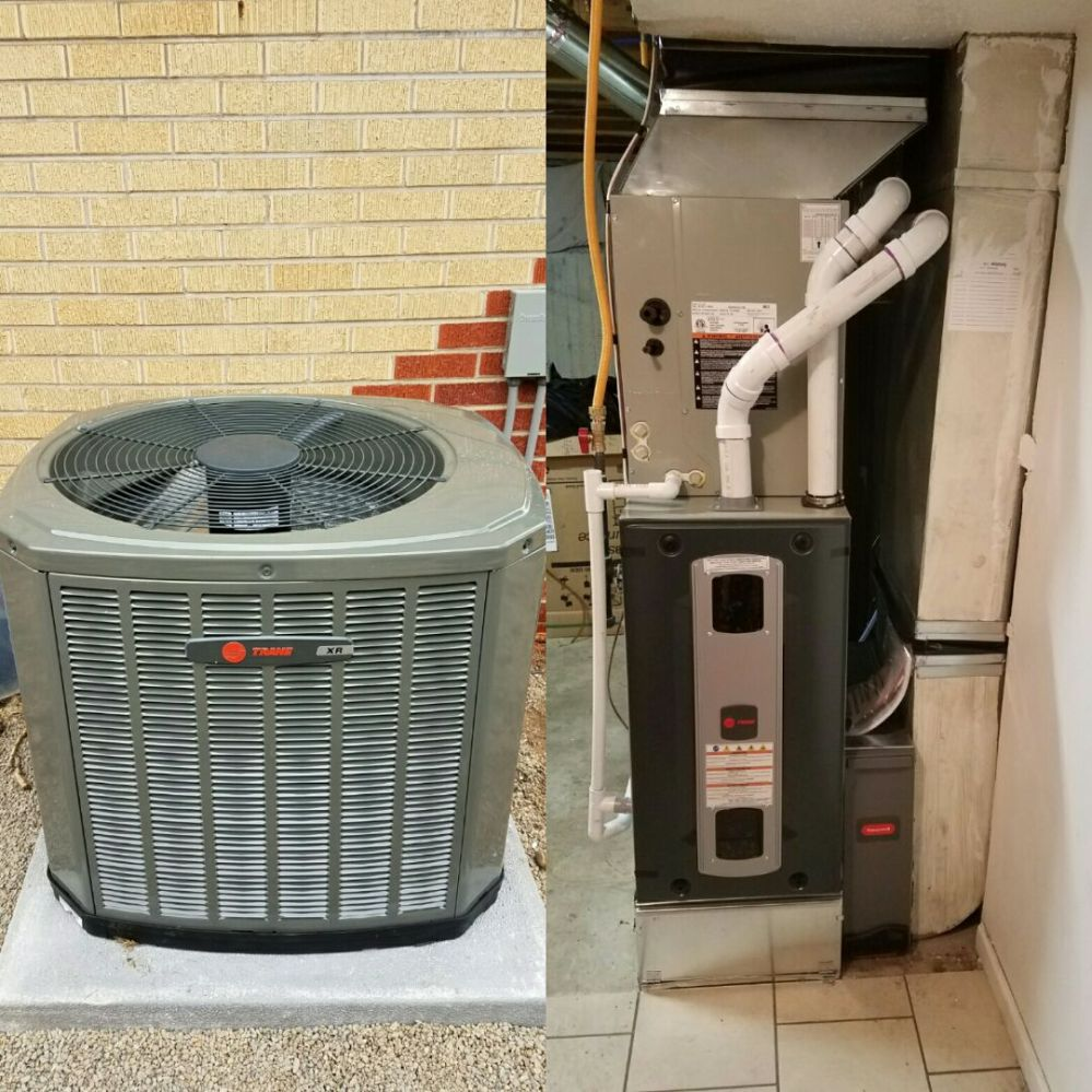 medium resolution of greeley co trane s9v2 variable speed furnace and ac install greeley
