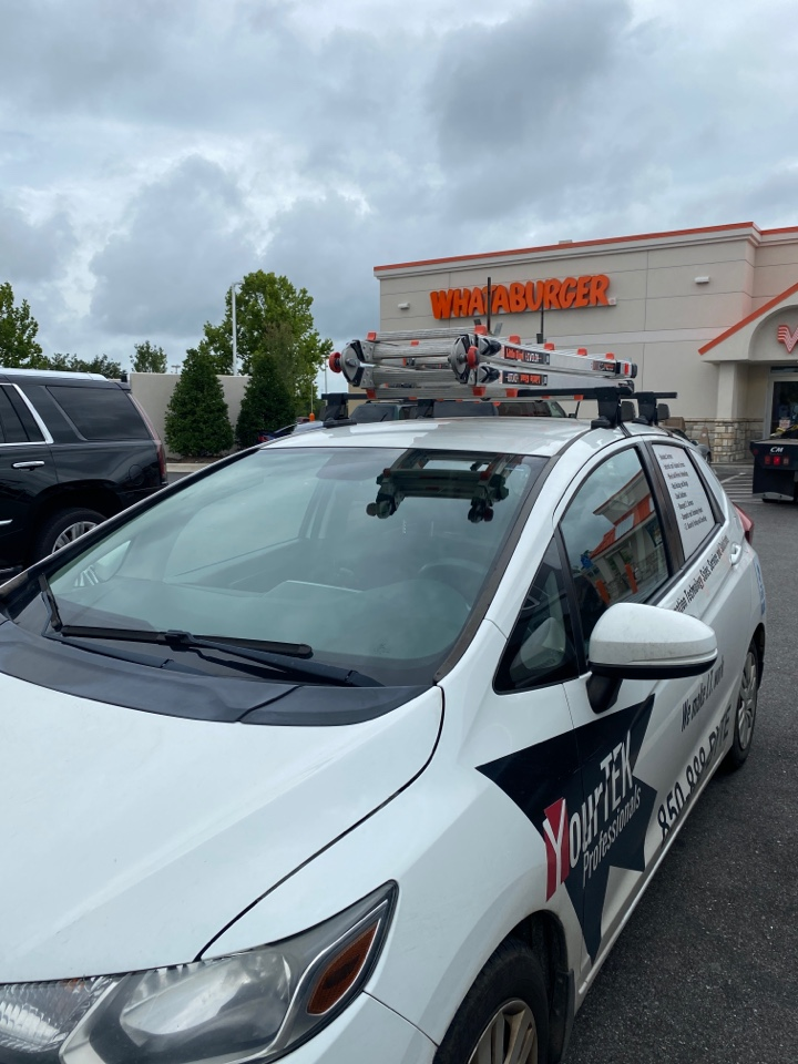 Daphne, AL - Fixing a printer issue here at The Whataburger in Daphne AL