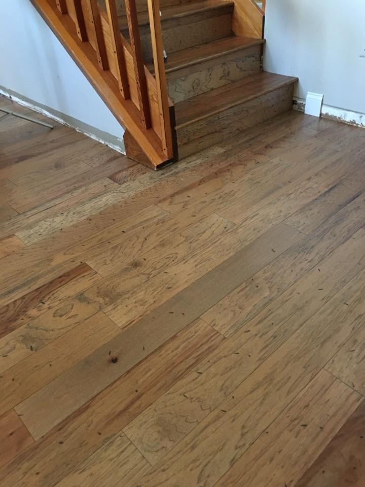 Tarpon Springs, FL - Installing engineered hardwood flooring
