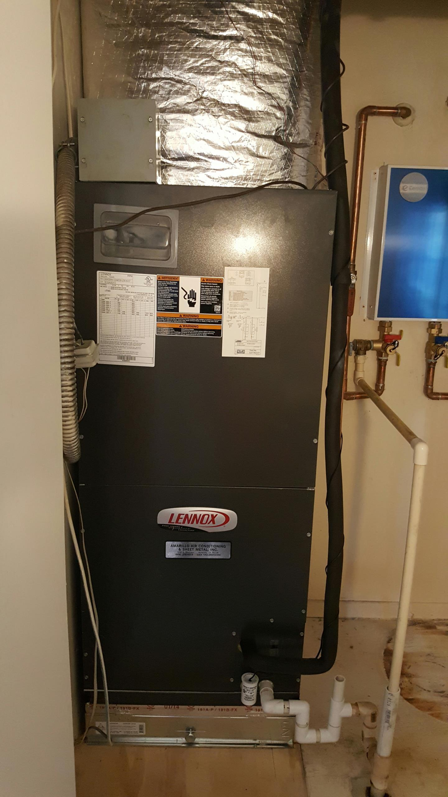 electric furnace lennox draw a diagram math problems real time service area for amarillo air conditioning
