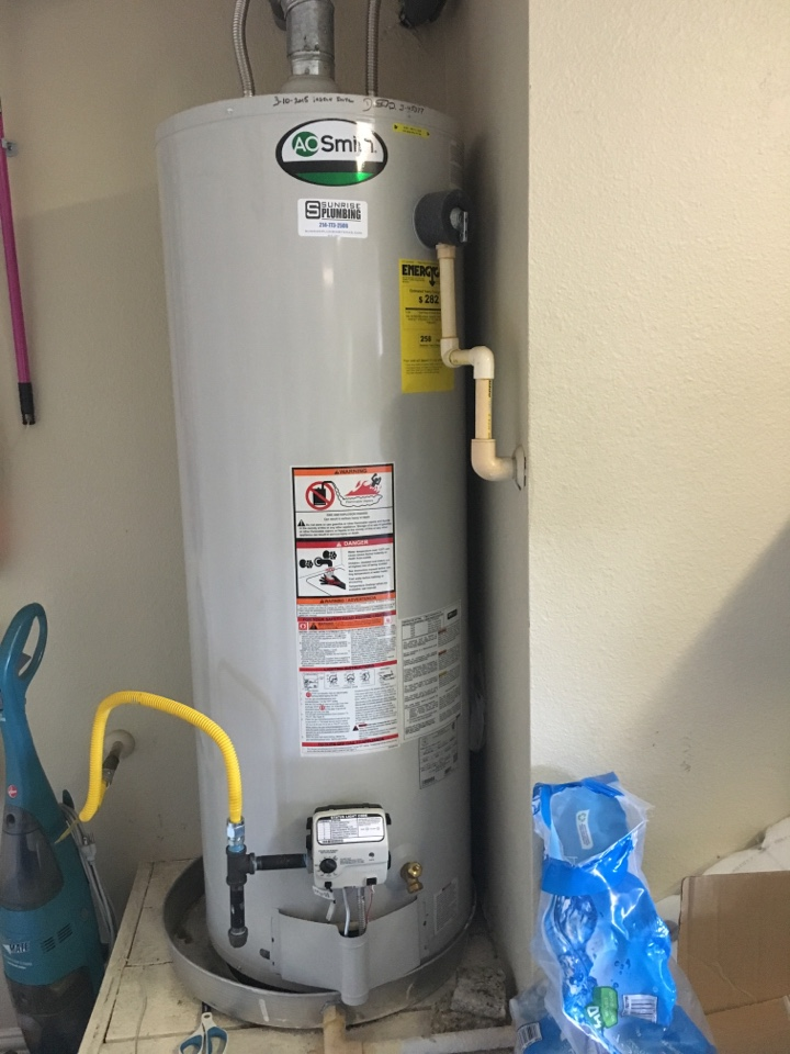 Forney, TX - AO Smith water heater keeps going out. No hot water. Install new Honeywell gas valve and pilot assembly. Unit is 4 years old.