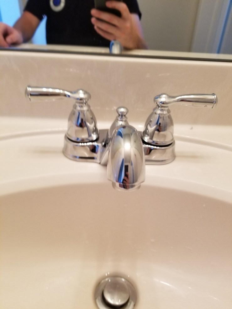 Frisco, TX - Lavatory faucet in Jack and Jill restroom has no pressure. Need repair. Install new lavatory faucet. Frisco plumbers