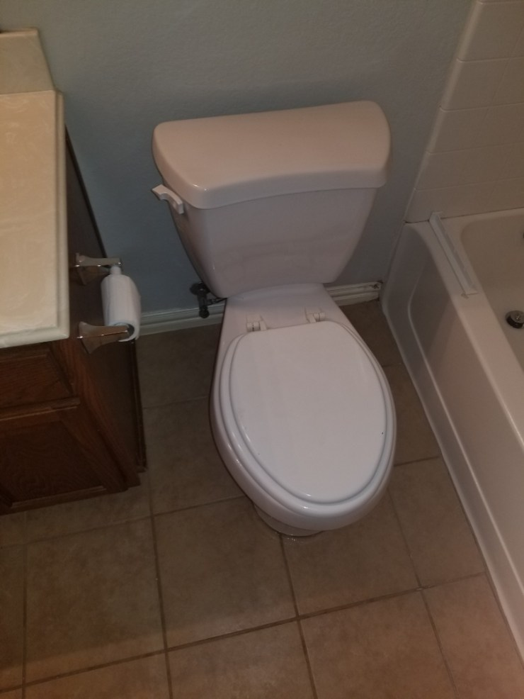 McKinney, TX - Toilet and up stairs hallway bathroom is  Moving when you sit on it. Need repair.  Reset toilet . McKinney plumbers