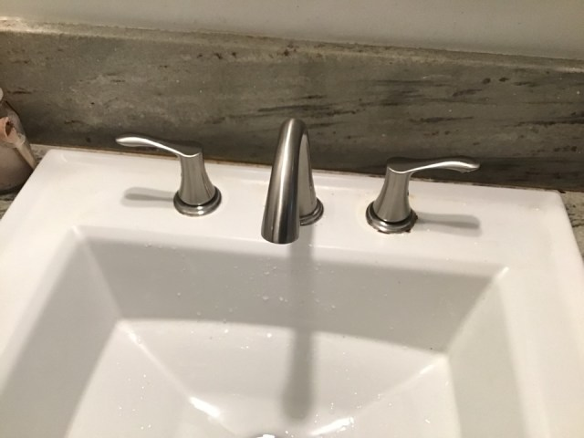 Hacienda Heights, CA - Alpine plumbing removed and replaced faucet in bathroom