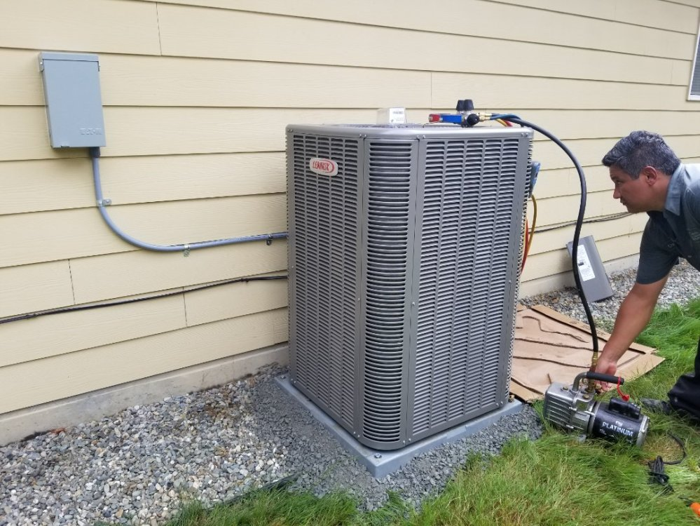 medium resolution of monroe wa electrical install new heat pump system and furnace upgrade