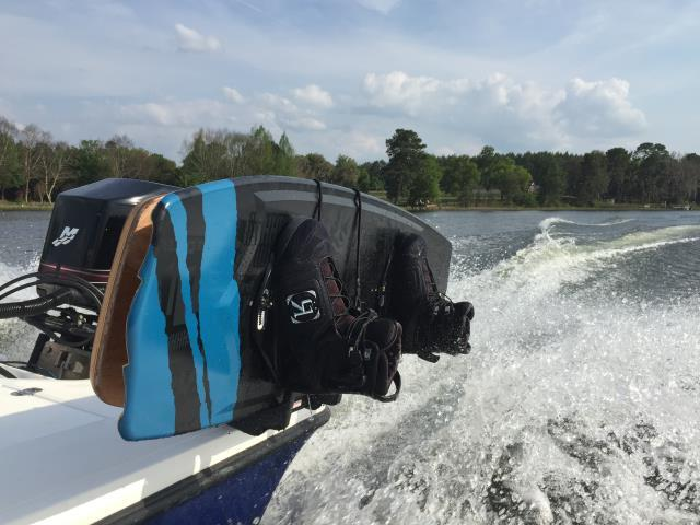Apopka, FL - Manta Racks B3 protects the boards and clears the floor.  Take your Boards