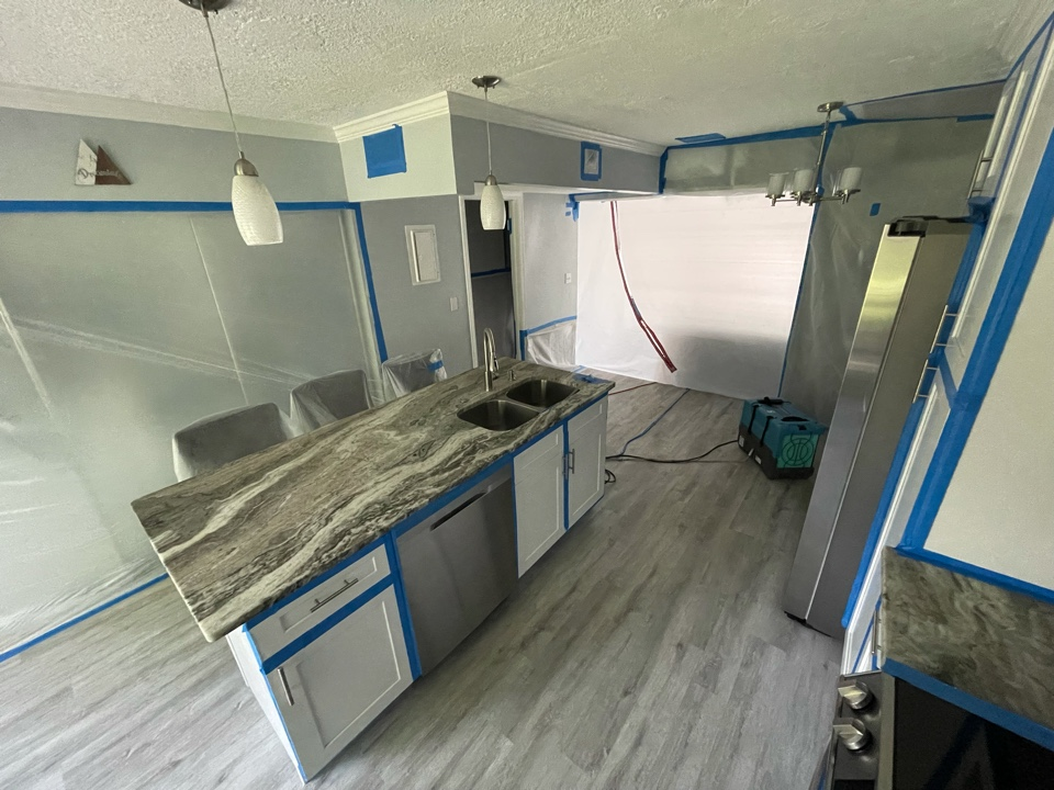 West Palm Beach, FL - Mold removal all done and house left clean and ready for the final assessment.
