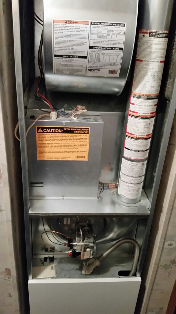 medium resolution of dryden ny planned maintenance on miller gas fired mobile home furnace inspect heat