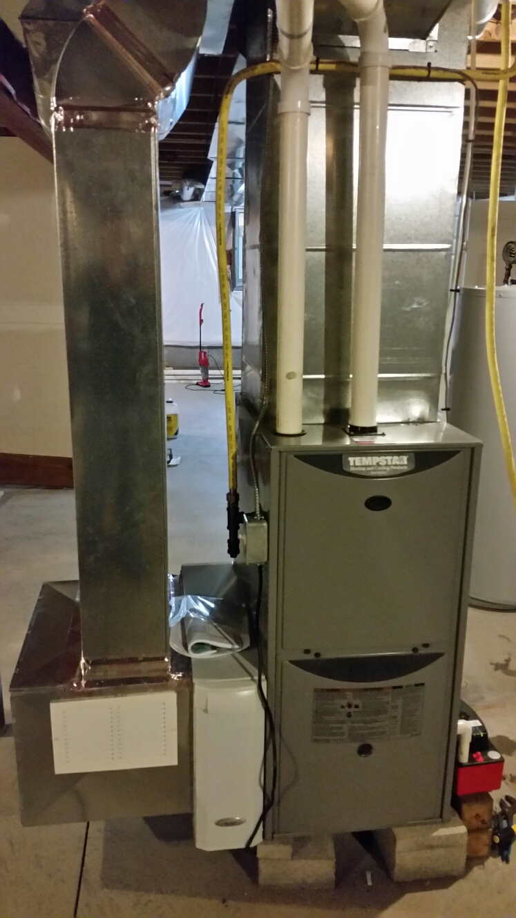 hight resolution of cortland ny replace failed heat exchanger and install aprilaire high efficiency air cleaner on