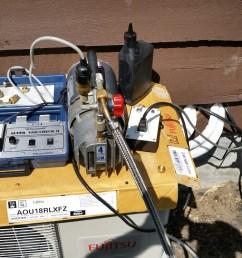 cortland ny vacuum test fujitsu mini split air conditioning system  [ 1328 x 747 Pixel ]