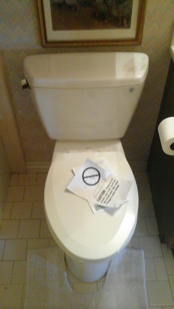 Duncanville, TX - Replace 2 toilets