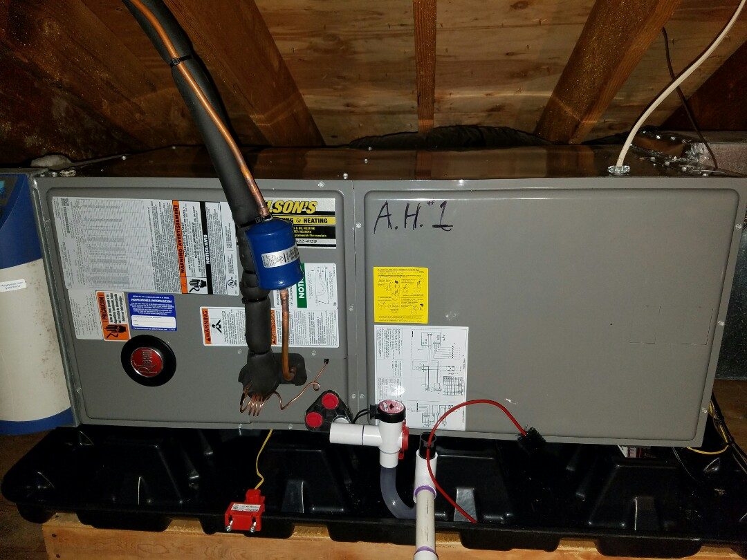 hight resolution of south brunswick township nj remove goodman air handler and condenser install rheem air handler