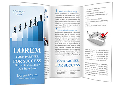 Successful Career Brochure Template & Design ID 0000000733