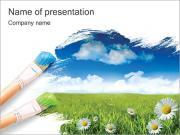 Green Tech PowerPoint Templates & Backgrounds, Google Slides Themes ...