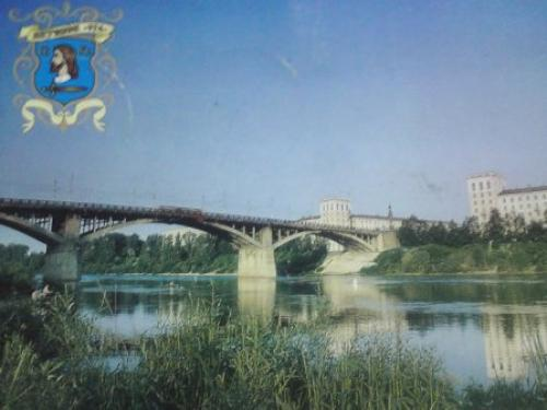 A bridge in Vitebsk, Belarus