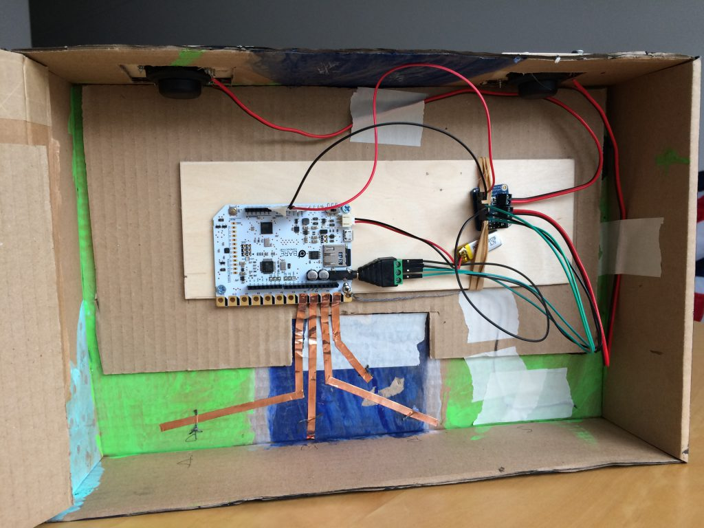 hight resolution of the project components and wiring