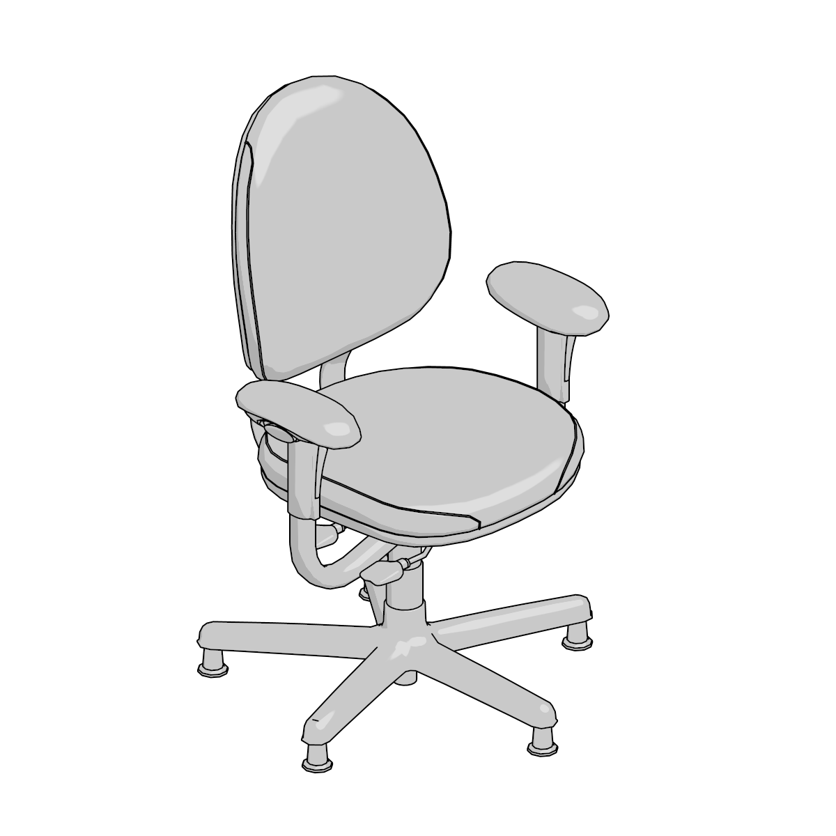 Steelcase Criterion Chair 3d Models Archive Steelcase