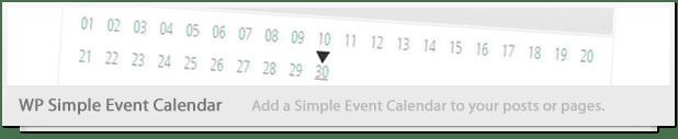 Simple Events Calendar JS - 6