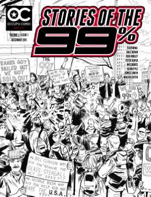 Occupy Comix: Inaugural Issue! Vol. 1, Is. 1