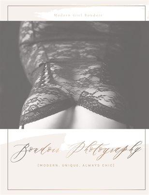 Modern Girl Boudoir Volume 1