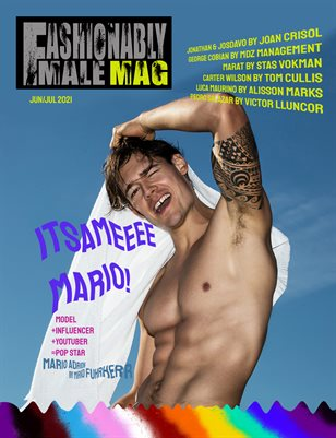 Mario Adrion for Fashionably Male Mag Pride Edition 2021